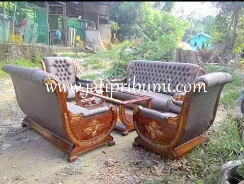 Kursi Tamu Sofa Mewah Italy Jati Ukiran Jepara Harga Murah Model 2015