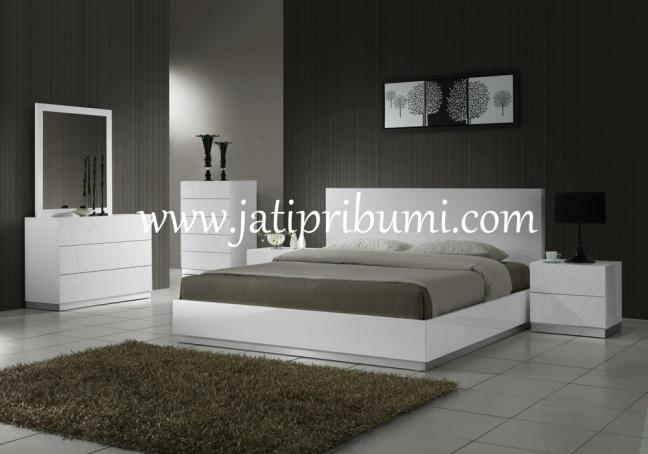 set tempat tidur minimalis naples