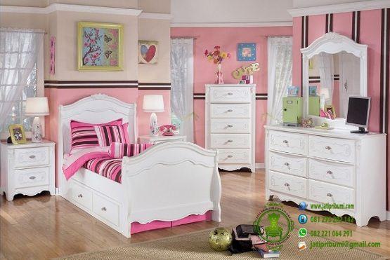 set-tempat-tidur-anak-cewek-model-terbaru