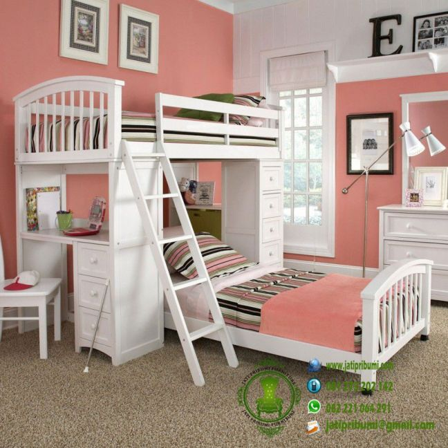 set-tempat-tidur-anak-model-susun-dilengkapi-meja-belajar-lemari-harga-murah-dan-berkualitas-furniture-jepara