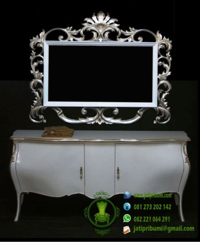 drawer-cermin-ukir-terbaru-warna-putih