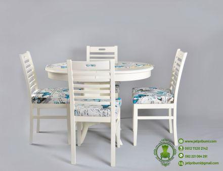 meja-makan-bundar-minimalis-putih-kursi-4