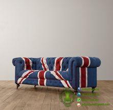 sofa chester bendera inggris model terbaru harga murah