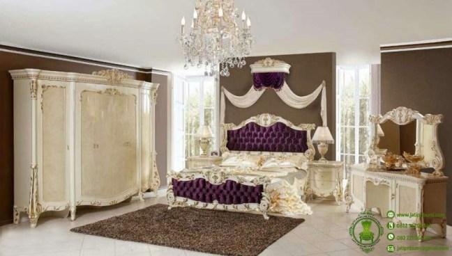 kamar set tempat tidur queen klasik model terbaru