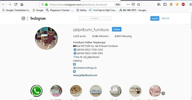 Furniture Jepara Online on Instagram
