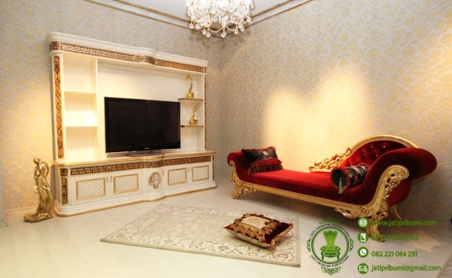 jual meja tv mewah dan sofa klasik (1)