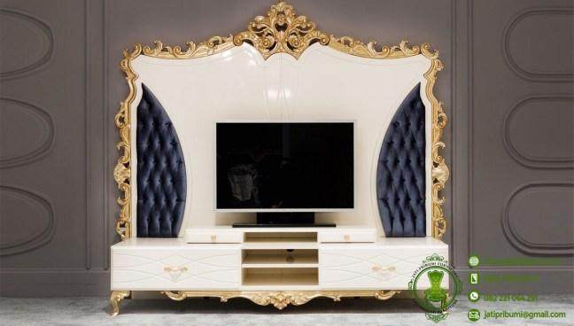 set meja tv sofa desain klasik (1)