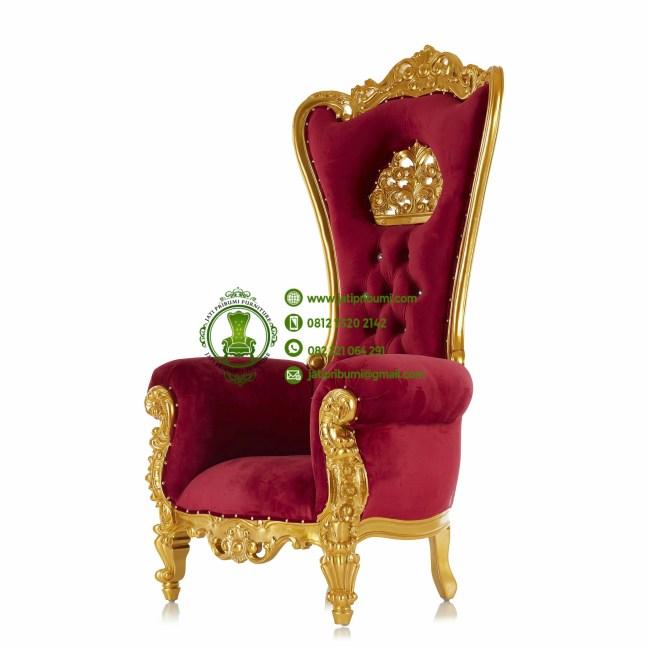 kursi princess mahkota gold terbaru (2)
